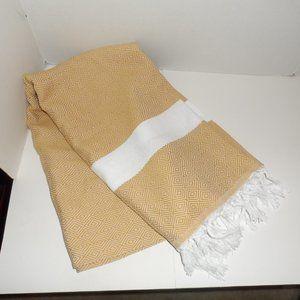 NEW - 100% Turkish Cotton Beach/Picnic Blanket